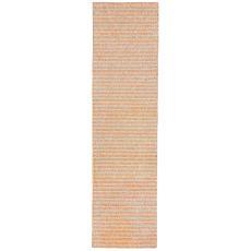"Liora Manne Wooster Stripes Indoor/Outdoor Rug - Orange, 24"" By 8'"