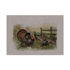 Wild Turkey 14X20 Placemat