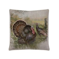 Wild Turkey 18X18 Pillow