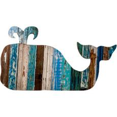 Whale Wooden Plaque
