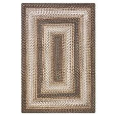 Homespice Decor 6' x 9' Rect. Wildwood Ultra Durable Braided Rug