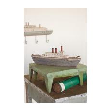 Wooden Steam Ship
