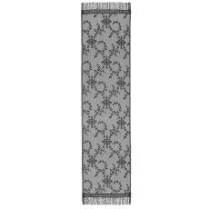 Yorkshire 20X72 Table Runner, Black