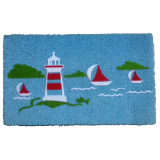 Yacht Light House Doormat