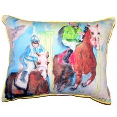 Starting Gate Extra Large Pillow