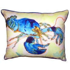 Green-Blue Lobster Extra Large Pillow