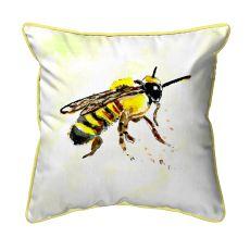 Bee Extra Large Zippered Pillow 22x22