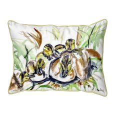 Ducklings  Indoor/Outdoor Extra Large Pillow 20X24