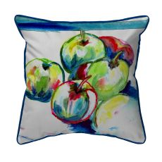 Green Apples  Indoor/Outdoor Extra Large Pillow 22X22