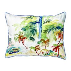 Colorful Palms  Indoor/Outdoor Extra Large Pillow 20X24