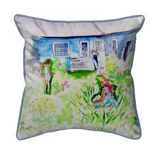 Front Yard Garden  Indoor/Outdoor Extra Large Pillow 22X22
