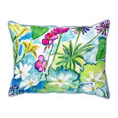 Wild Garden  Indoor/Outdoor Extra Large Pillow 20X24