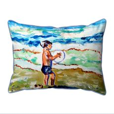 Boy & Surf Indoor/Outdoor Extra Large Pillow 20X24