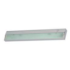 Aurora 3 Light Under Cabinet Light In Stainless Steel