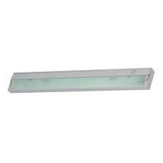 Aurora 4 Light Under Cabinet Light In Stainless Steel