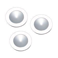 Ursa Collection 3 Light Disc Light Kit In White