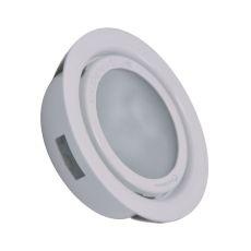 Aurora 1 Light Recessed Disc Light In White