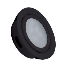 Aurora 1 Light Recessed Disc Light In Black