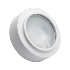 Aurora 3 Light Xenon Disc Light In White