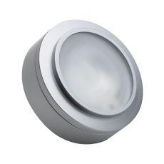 Aurora 1 Light Xenon Disc Light In Stainless Steel