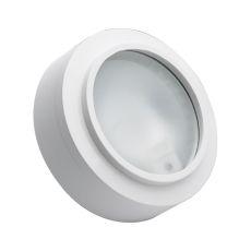 Aurora 1 Light Xenon Disc Light In White