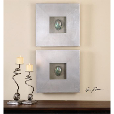 Abalone Shells Wall Decor  S/2