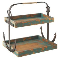 Anchor Two-Tier Caddy