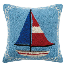 Americana Hook Pillow