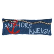 Anchors Aweigh Elongated Hook Pillow