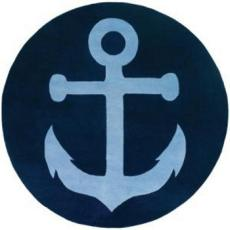 Anchor 8Ft Round Rug