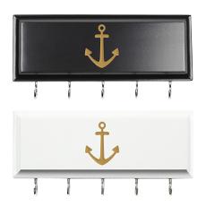 Anchor Key Holder with Hooks
