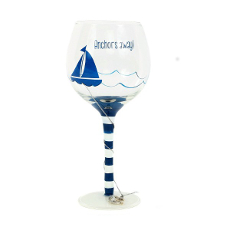 Anchos Away Wine Glass 18Oz