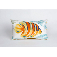 Angel Fish Oblong Indoor Outdoor Pillow