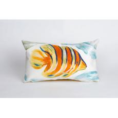 Angel Fish Oblong Indoor/ Outdoor Pillow