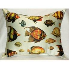 School of Fish Outdoor Pillow