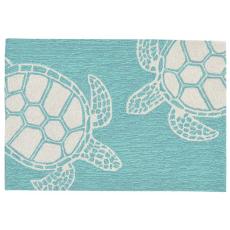 Turtle Aqua Rug