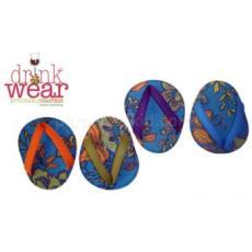 Aqua Verra Flip Flop Coasters
