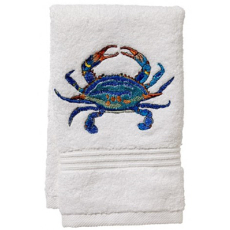 "Atlantic Crab Terry Towel 12""x19"""