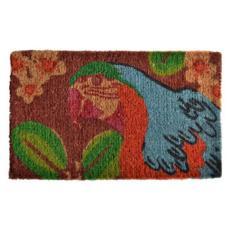 Bahama Parrot Doormat