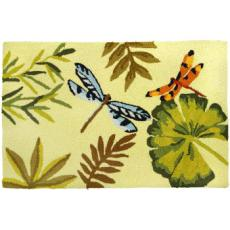 Bamboo Dragonfly Accent Rug