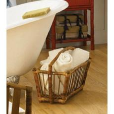 Coastal Bamboo Magazine/Towel Caddie