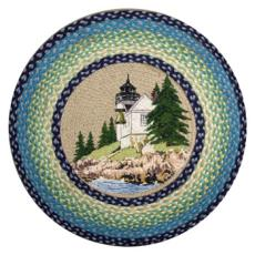 Bass Harbor Round Patch Rug