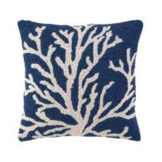 Blue Single Sea Reef Hook Pillow