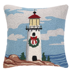 Christmas Light Tower Hook Pillow