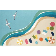 Beach View Indoor Outdoor Rug