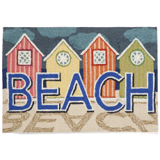 Beachfront Pastel Indoor Outdoor Rug
