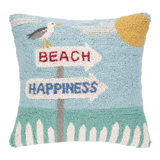 Beach Happiness Hook Pillow