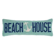 Beach House Hook Pillow