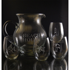 Beach House Drink Set