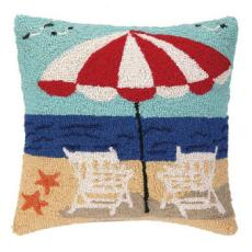 Beach Getaway Hook Pillow